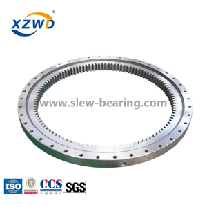 Internal gear Light turntable slewing ring bearing used in small aerial work platform