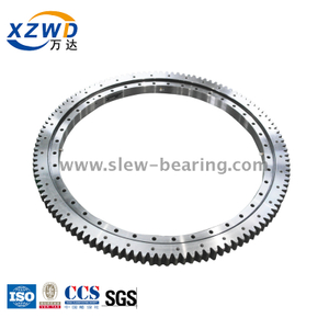 The Thin Section Light Type Internal Gear Slewing Bearing Can Used for The Food Machinaery