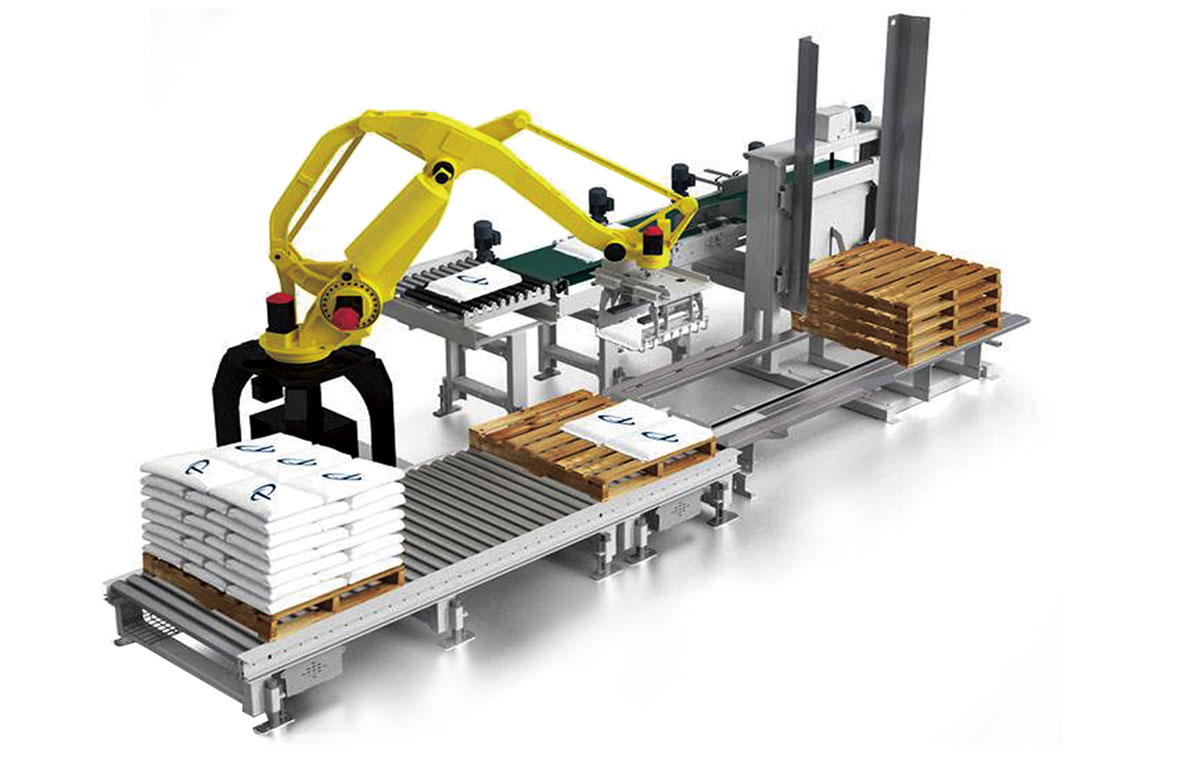 Industrial palletizing robots